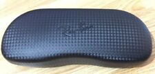 Genuine Ray Ban Black Carbon Fibre Hard Glasses Case !!!