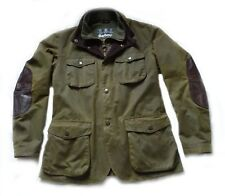 "SUPERB BARBOUR "" OGSTON "" WAX & LEATHER JACKET - LGE  - XCONDITION - V RARE £295"