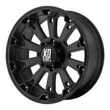 18 inch Black wheels rims XD Series 800 Misfit Chevy Gmc 1500 trucks 6 lug 6x5.5