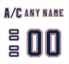 Edmonton Oilers 1996-2011 White Jersey Customized Number Kit un-stitched