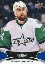 16/17 UPPER DECK AHL #74 BRANDON DEFAZIO TEXAS STARS *30995