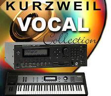 Prenez.k25 vocaux pour Kurzweil k2600 k2661 pc3 pc3k6 k6 6 k7 k8 pc3k7 pc3k8