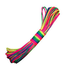 101ft Rainbow Color Paracord Rope 7 Strand Parachute Cord Camping Hiking 31m Us