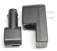Travel House Home Wall Car USB Charger 5V DC 500mA for iPod iPhone Cellphones