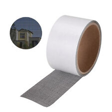 Window Door Screen Patch Repair Kit Black Mesh 5*200cm Window Hole Repaire Tape