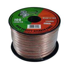 Pyramid RSW12100 Speaker Wire 12 Ga 100' Clear