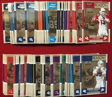 2008 Playoff Contenders Football Complete 100 Card Base Set Manning, Brady Brees
