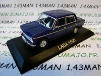 BAL35H Voiture 1/43 IXO DEAGOSTINI Balkans : LADA 1500 bleu