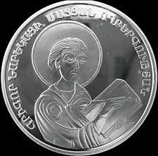 ARMENIA 100 DRAM SILVER COIN PROOF 2002 Grigor Narekatsi, The Book Of Sadness