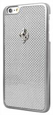 Ferrari GT Carbon Hard Case for iPhone 6 Plus/6s Plus - Silver Frame
