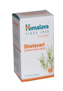 Himalaya Herbal Shatavari / Asparagus Promotes Lactation 60 tabs/womens wellness