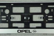 2x Kennzeichenhalter OPEL Kennzeichenhalterung Nummernschildhalter kfz NEU
