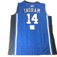 Brandon Ingram signed jersey PSA/DNA Duke Blue Devils Autographed Pelicans