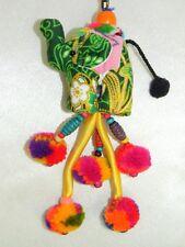 Thai Colorful Fabric Handmade Elephant Key Chain, Key Ring Accessories, Nice!!!