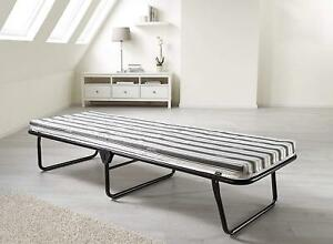 Portable Folding Single Guest Bed Mattress Foam Fold Up Away Rollaway Camping