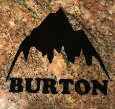 Burton Sticker - Ski Snowboard Freestyle X Games Montain Sports Powder Skiing