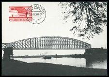 NETHERLANDS MK 1968 BRIDGES BRIDGE BRÜCKEN BRÜCKE CARTE MAXIMUM CARD MC CM be97