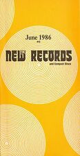 THE NEW RECORDS record catalogue 415 june 1986 bill nelson ozzy osbourne call