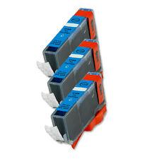 3 CYAN Ink Cartridge for Canon Printer CLI-221C MP640 MX860 MX870