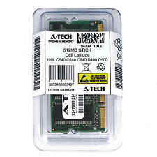 512MB SODIMM Dell Latitude 100L C540 C640 C840 D400 D500 D600 D800 Ram Memory