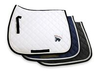 GEE TAC HORSE SADDLE  CLOTH NUMNAH PAD NEW PRO 100% COTTON COMFORT ALL SIZES