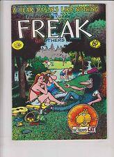 Freak Brothers #3 FN+ british import version - gilbert shelton - rip off 1976
