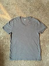 Mens Old Navy Gray V-Neck T-Shirt  Sz S VGUC