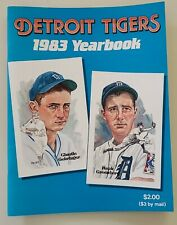 Original1983 DETROIT Tigers Yearbook TRAMMEL Whitaker SPARKY Mint  condition