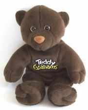 HTF Teddy Grahams Promo Chunky Chocolate Plush Stuffed animal Bean Bag Bear