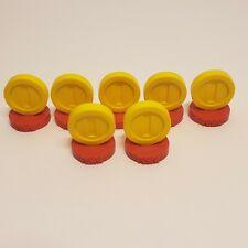 Super Mario Chess 7 PAWN Coins Token Piece Mini Figure Nintendo Collectible LOT