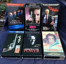 VHS 6 Clint Eastwood Movies Dirty Harry & MORE