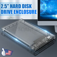 USB3.0 High Speed 2.5In Hard Drive HDD/SSD Enclosure External Disk Case Box Dock