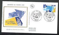 ENVELOPPE 1ER JOUR JOURNEE DU TIMBRE 1990 PARIS