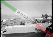 PRL) BOCCA DI MAGRA BELVEDERE LASTRA NEGATIVO BIANCO NERO CARTOLINA 7323 '50s