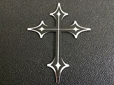 Bully Stainless Steel Cross Dual Layer 3D Emblem Decal Badge For Acura Cars,Suv