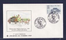 enveloppe 1er jour  journée du timbre  01 Ambérieu en Bugey    1989