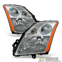For 2007 2008 2009 Sentra 2.0L 2.5L Headlights Headlamps Replacement Left+Right