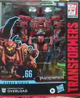 Transformers Studio Series Leader Class Overload Action Figure New/Sealed