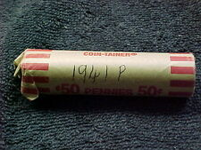 1941 P    LINCOLN WHEAT PENNY ROLL