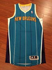 Adidas Rev 30 New Orleans Hornets Pelicans Authentic Jersey Men's Large NWOT