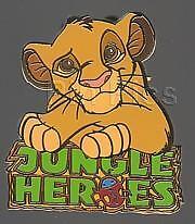 Disney Dlrp Jungle Heroes Simba Pin
