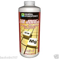 General Hydroponics CALiMAGic 32oz Quart Calcium Magnesium CalMag BAY HYDRO $$