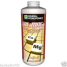 General Hydroponics CALiMAGic 32oz Quart Calcium Magnesium CalMag BAY HYDRO $$