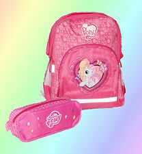 set 2 pezzi ZAINO My Little Pony Bambina -SCUOLA elementare-Principessa Celestia