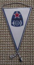 Svazarm Czech Paramilitary Organisation Army Airforce Radio Logo Pennant Flag