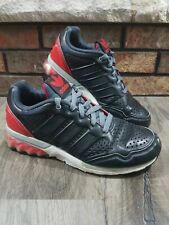 Adidas Mega Softcell Gym Training Running Shoes Mens Size 7 Black & Red Trefoil