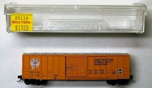MTL Micro-Trains 25110 New Orleans Public Belt NOPB 3978