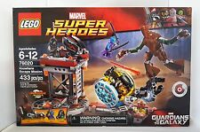 LEGO 76020 Super Heroes  KNOWHERE ESCAPE MISSION GUARDIANS GALAXY Groot
