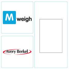 Avery Berkel - 58mm x 60mm Thermal Scale Label - Plain Cut White - 18,000 Labels