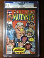 New Mutants #87 (1990) - 1st Cable! - CGC 9.6! Newsstand! - White Pages!
